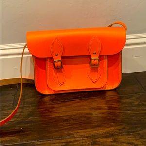 The Cambridge Satchel Company Neon Orange Bag